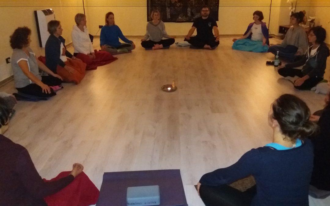 Pranayama, Mantra Chanting e Meditazione