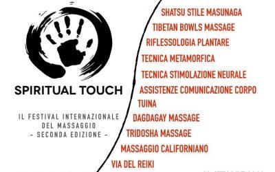 Spiritual Touch – 13 ottobre 2019 a Torino